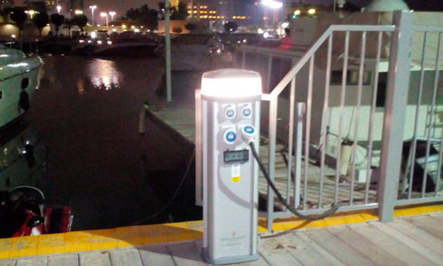 Electrical-Pedestal-Supply-&-installation-by-beach-marine-and-ports-services-uae