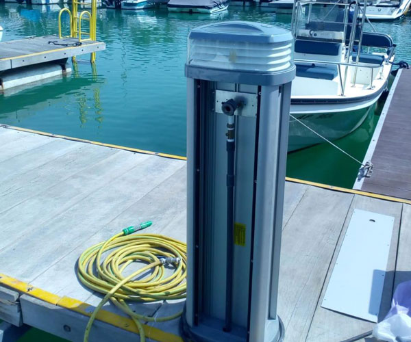 Supply and Installation of Electrical Pedestals
