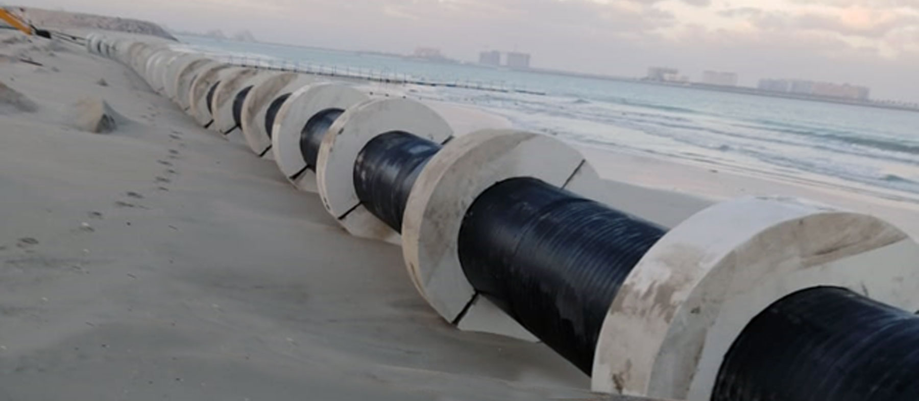 Sea Water Outfall Pipeline Extension